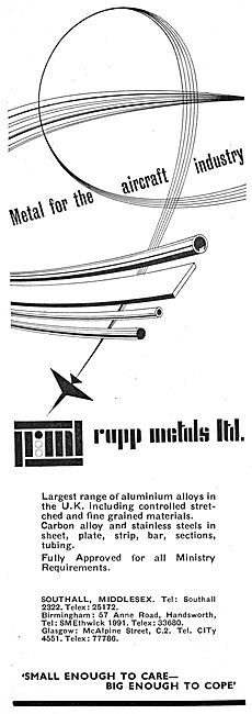 Leo Rapp - Metals For The Aircraft Industry