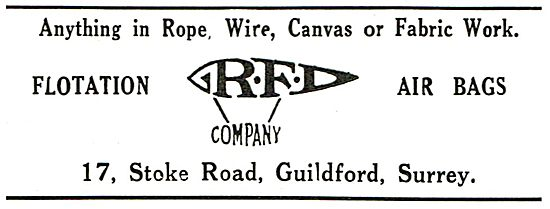 RFD Company -  Anything In Rope,Wire Or Canvas Work
