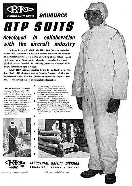 RFD HTP Suits 1956