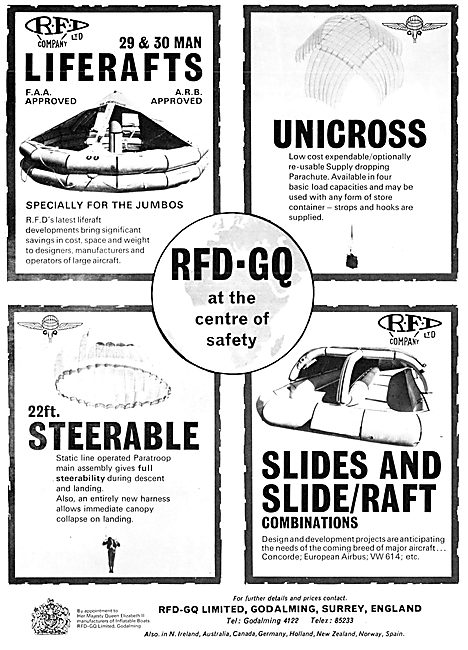 RFD-GQ Safety & Survival Equipment