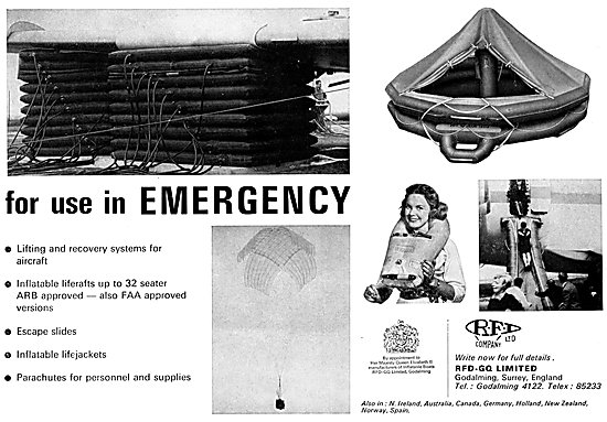 RFD-GQ Emergency & Survival Equipment