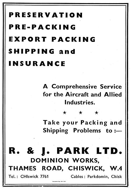 R & J Park Export Shipping Service