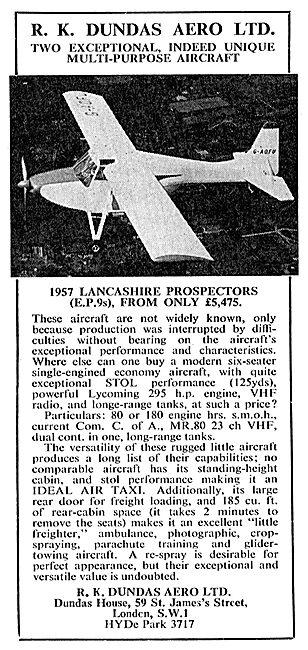 R.K.Dundas - EP9 Lancashire Prospector