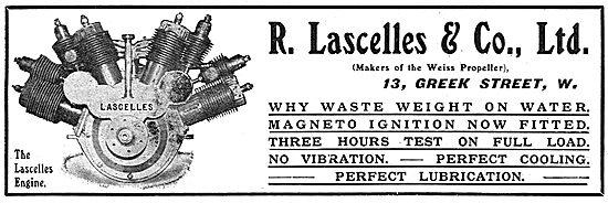 The  Lascelles Aero Engine - Lascelles & Co. 13 Greek St. London