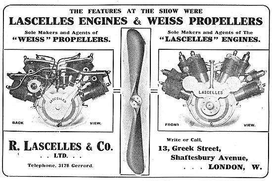 Lascelles Aero Engines & Weiss Propellers