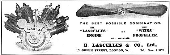Lascelles Aero Engines & Weiss Propellers The Best Combination