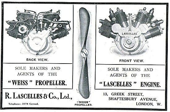 LascellesAero Engines & Weiss Flight Propellers