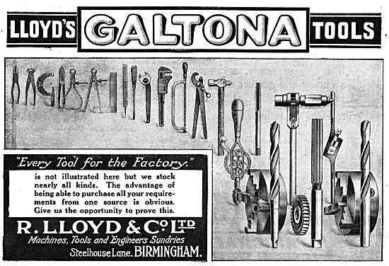 R.Lloyd & Co Ltd. - Galtona Tools