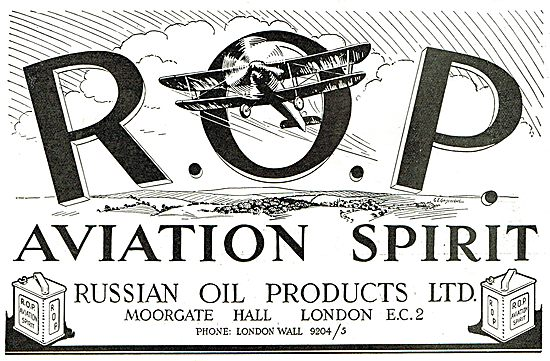 Russian Oil Products - ROP Aviation Spirit