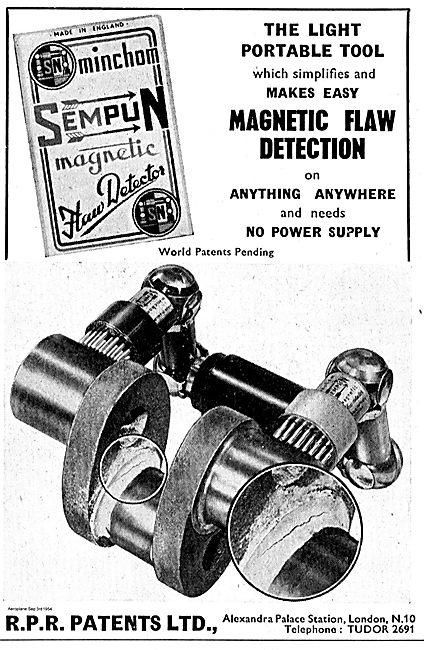 R.P.R. Patents Sempun  Portable Magnetic Flaw Detection Equipment