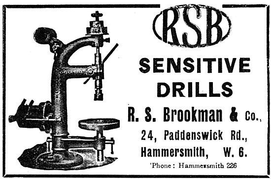R.S.Brookman & Co - RSB Sensitive Drills