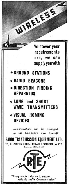 Radio Transmission Equipment - RTE Air & Ground Stations