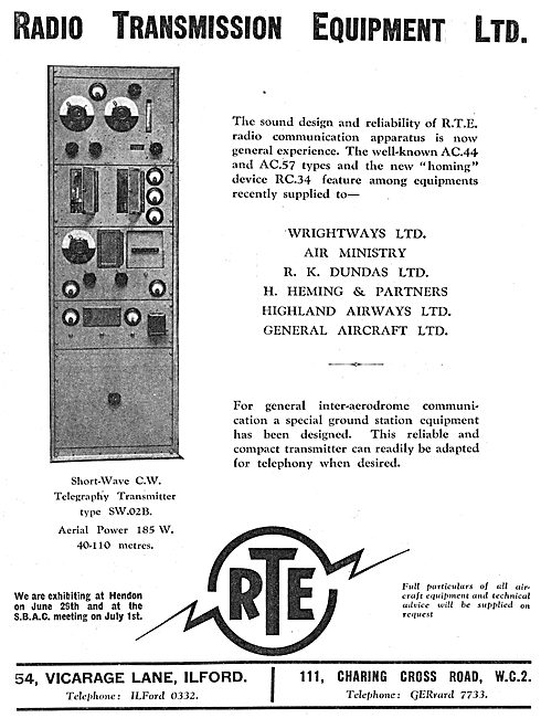 Radio Transmission Equipment - RTE AC44  RTE AC57 34
