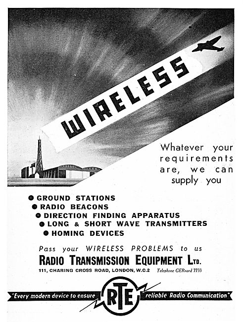 Radio Transmission Equipment - RTE Wireless