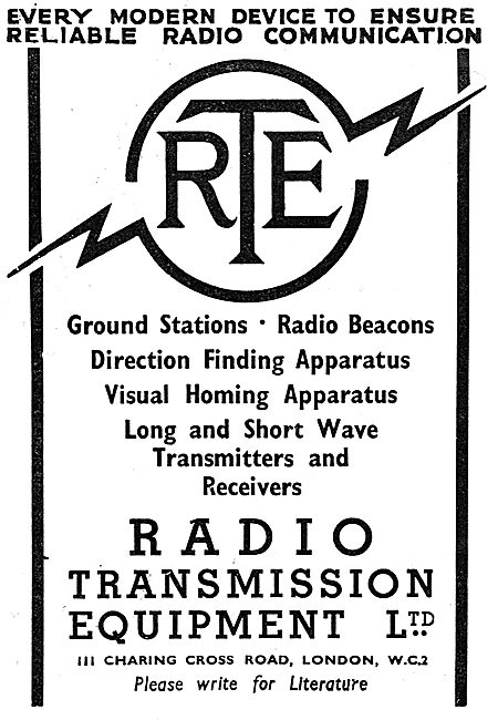 Radio Transmission Equipment - RTE Radio Beacons