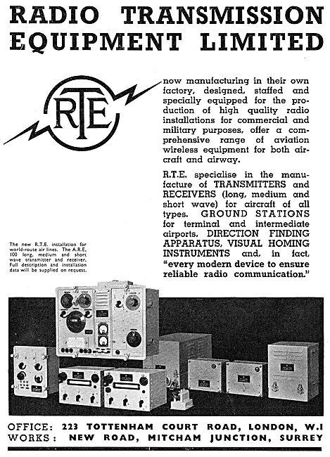 Radio Transmission Equipment - RTE Transceivers