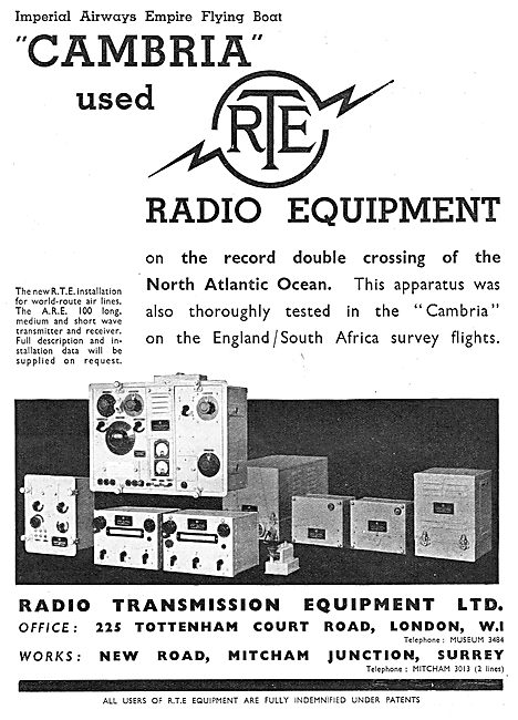 Radio Transmission Equipment - RTE ARE 100 Transmitter