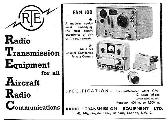 Radio Transmission Equipment - RTE  Radios. RTE EAM 100