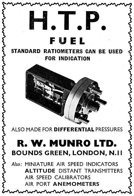 R.W. Munro Instruments, Test Equipment. HTP Ratiometers