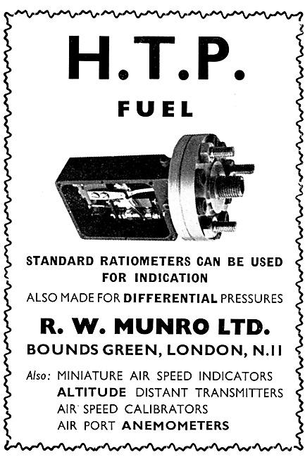 R.W.Munro HTP Fuel Ratiometer