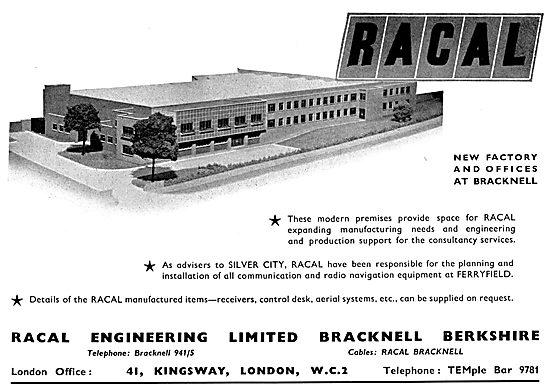 Racal Aviation Communications & Radio Navigation Systems