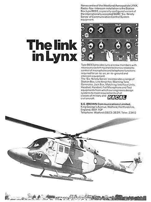 Racal Six-Ninety Series Avionics  S.G.Brown Communications
