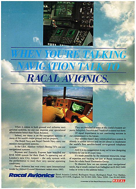 Racal Avionics - RACAL RNS 5000