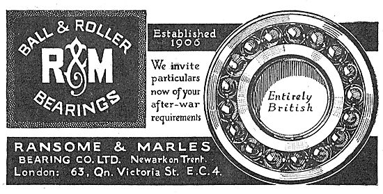 Ransome & Marles Aero Engine Ball & Roller Bearings