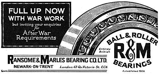 Ransome & Marles Bearings. Newark-On-Trent