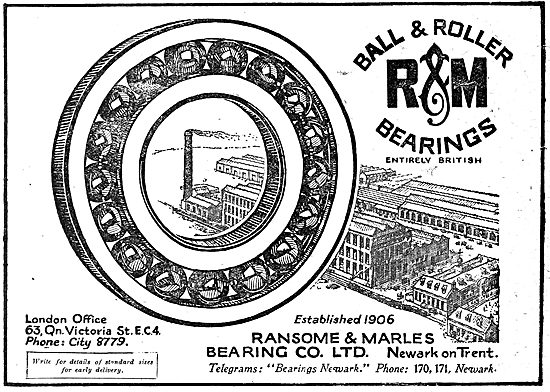 Ransome & Marles Bearings