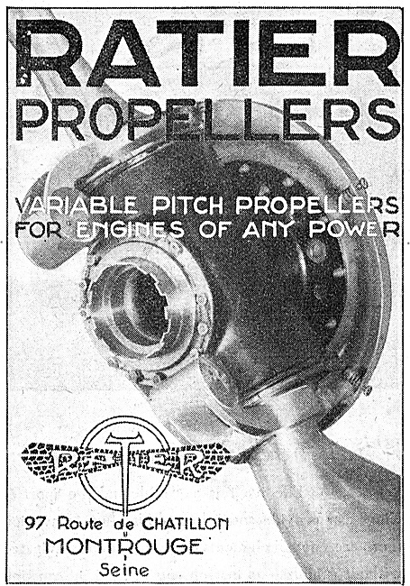 Ratier Variable Pitch Propellers