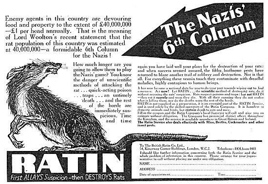 British Ratin Rodent Control