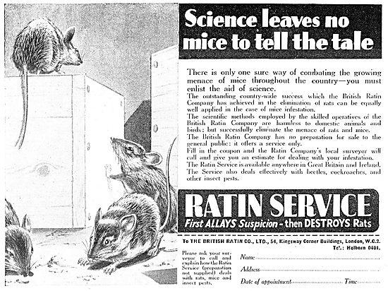 Ratin. Rat Control Service For Factories & Warehouses