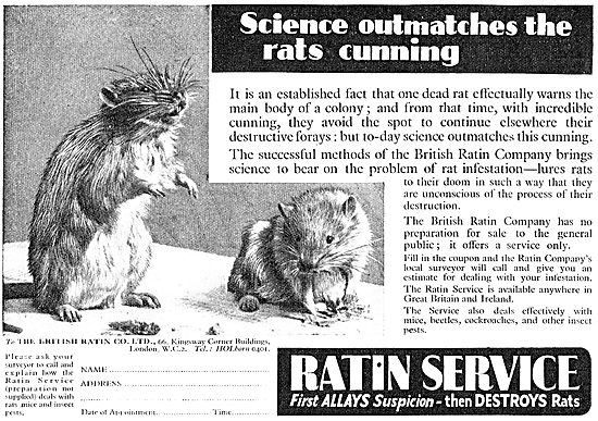 Ratin. Rat & Mouse Control Service For Factories & Warehouses