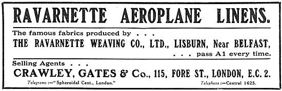 Ravarnette Aircraft Fabrics