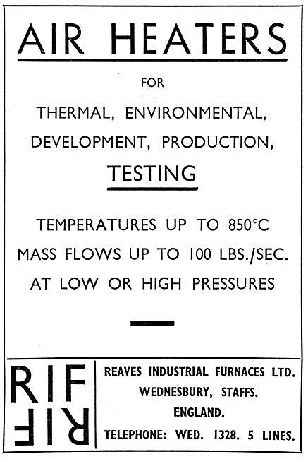 Reaves Industrial Furnaces - Air Heaters