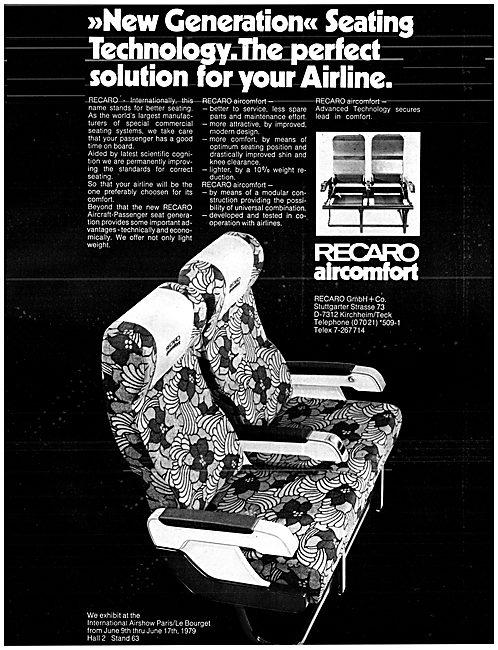 Recaro AirComfort Passenger Seating