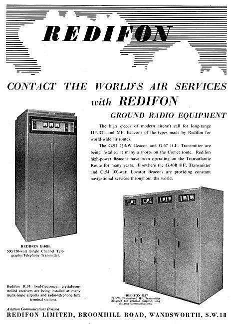 Redifon Airfield Ground Radio Systems
