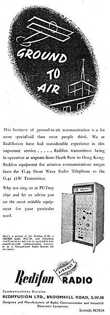 Redifon G41 Transmitter - Rediffusion