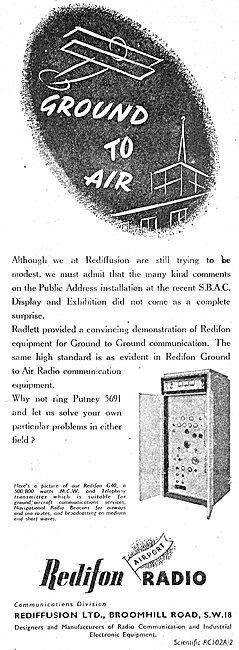 Redifon G40 Transmitter - Rediffusion