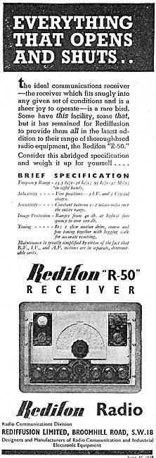 Redifon R50 Receiver - Rediffusion