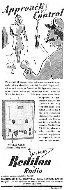Redifon GR49 Radio Telephone - Rediffusion