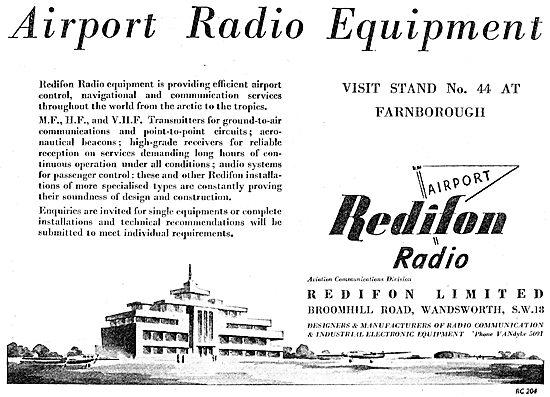 Rediffusuion Redifon Airport Radio Equipment
