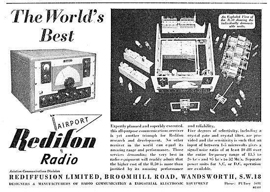 Rediffusuion Redifon Airport Radio Equipment - R50
