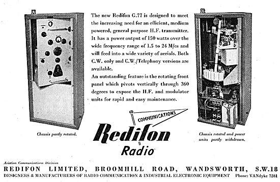 Redifon Airport Radio Equipment G77 HF Transmitter