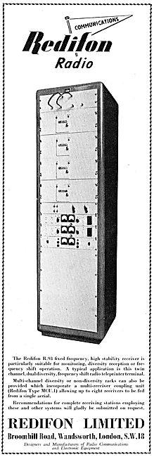 Redifon Airport Radio Equipment R93 Receiver