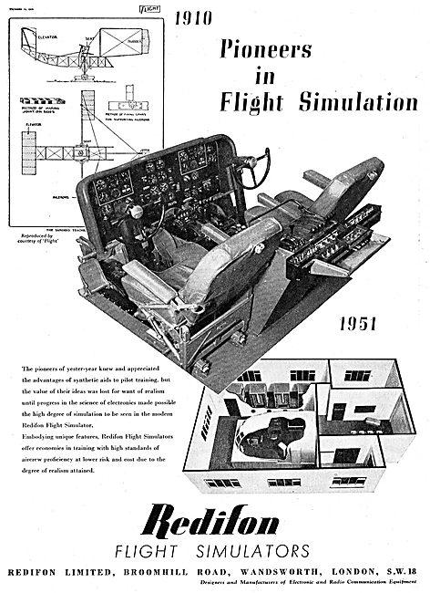 Redifon Flight Simulation