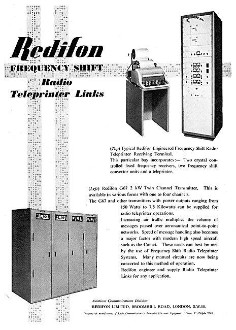 Redifon Airport Radio Equipment - Teleprinter