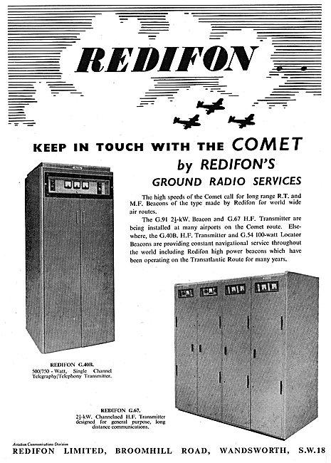 Redifon Airport Radio Equipment - G91 Beacon