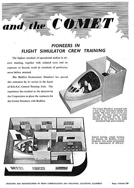 Redifon Flight Simulation - Comet